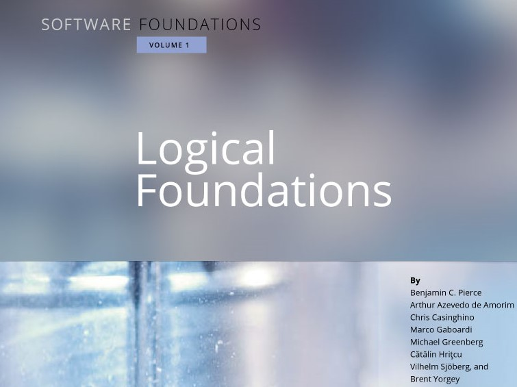 Logical Foundations