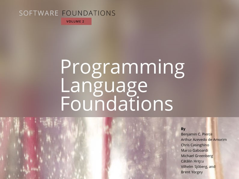 Programming Language Foundations